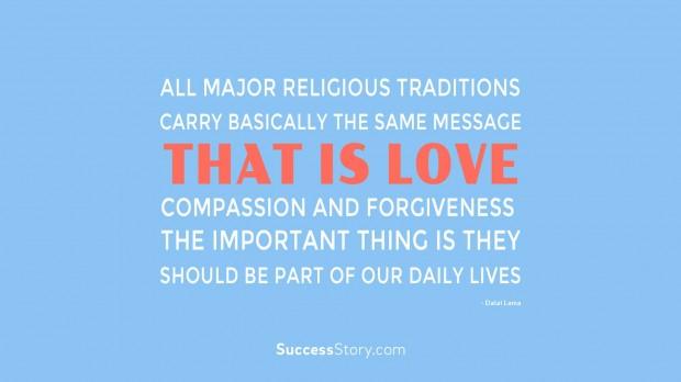 All major religio  2