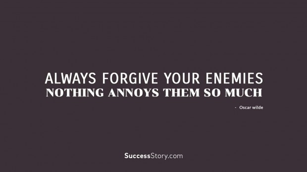 Always forgive y