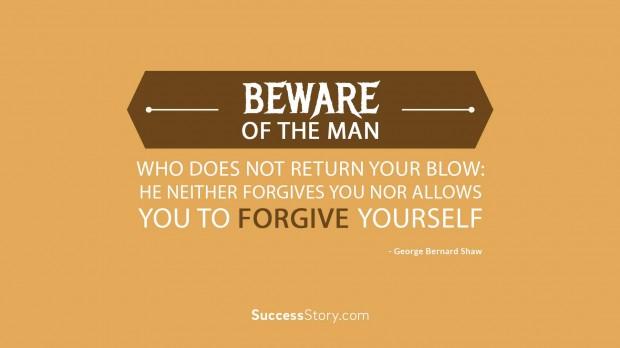 Beware of the man