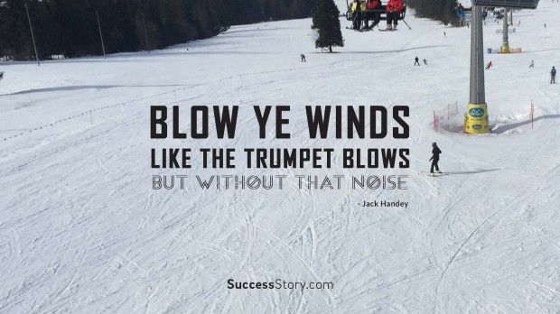 Blow ye winds, lik