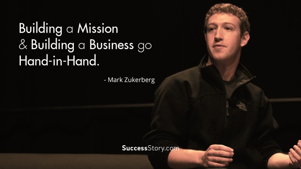 Building a mission and building a business go hand in hand