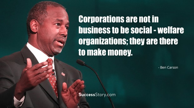 Corporations are not
