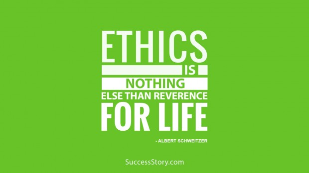 Ethics is nothing