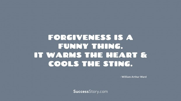 Forgiveness is a fu