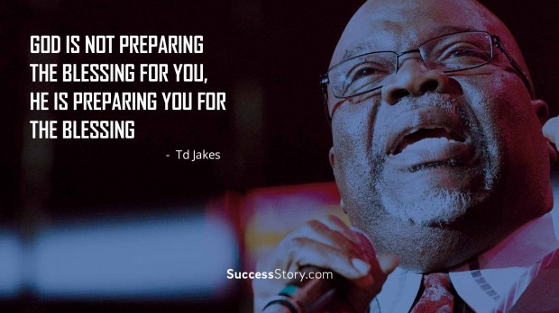 God is not preparing the