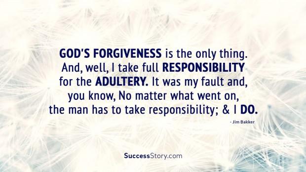 God s forgiveness is t
