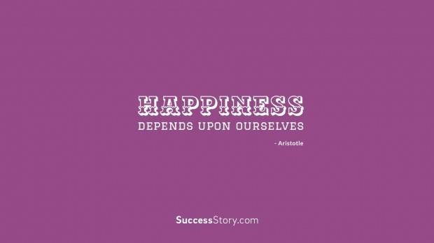 Happiness depends