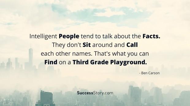 Intelligent People tend