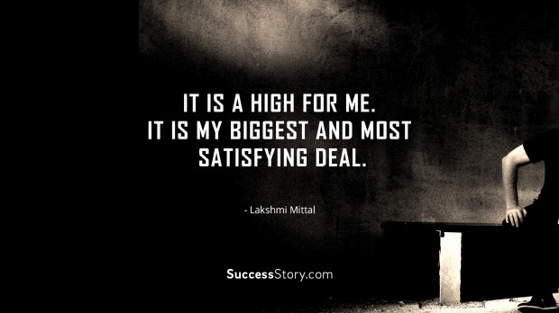 It is a high for me