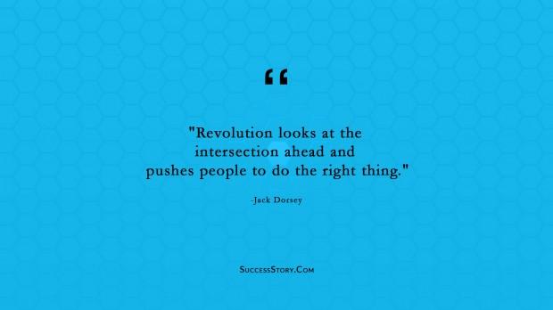 Jack Doresey Revolution quote