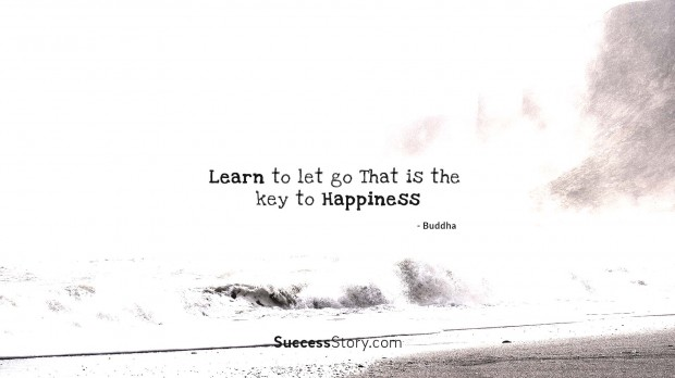 Learn to let go