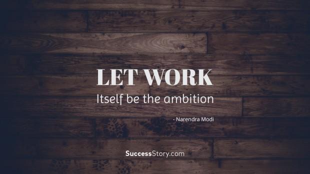 Let work