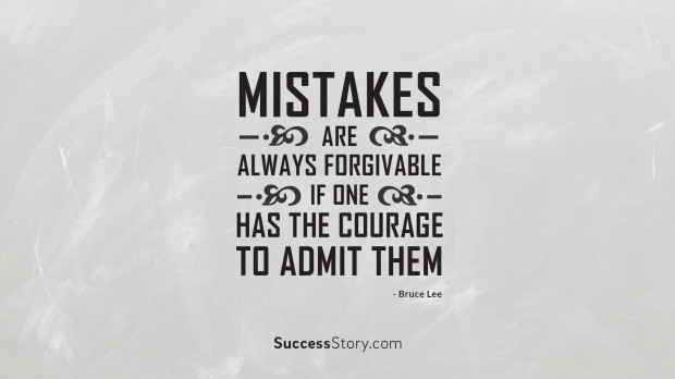 Mistakes are alwa