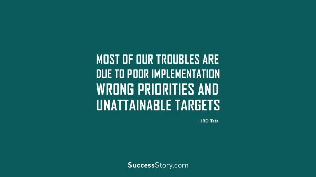 Most of our troubles
