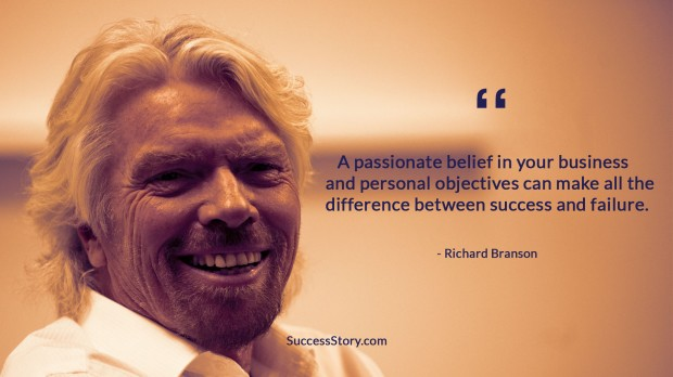 Richard Branson Success Quote