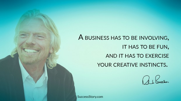 Richard Branson quote on Business