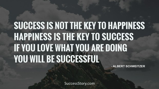 Sucess is not the