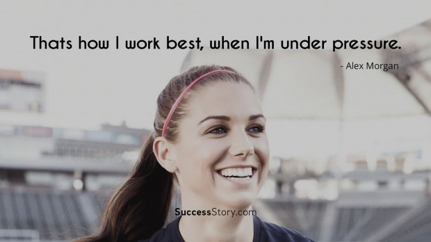 Famous alex morgan quotes inspirational sayings successstory alex morgan quotes voltagebd