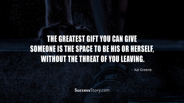 The greatest gift you
