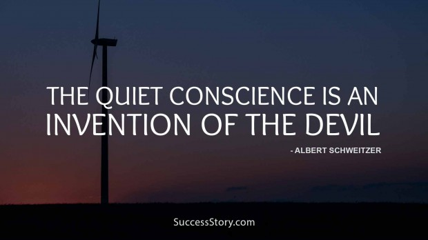 The quoet conscience