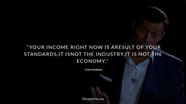 Tony Robbins Income Quotes