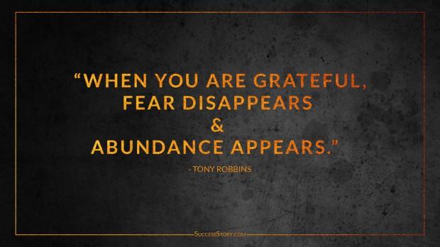 Tony Robbins courage quote