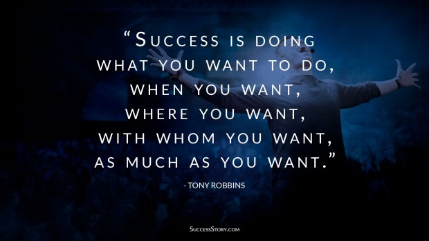 Tony Robbins success quote