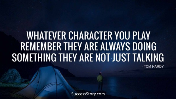 Whatever character you