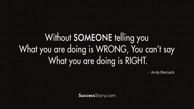 Without Someone Telling