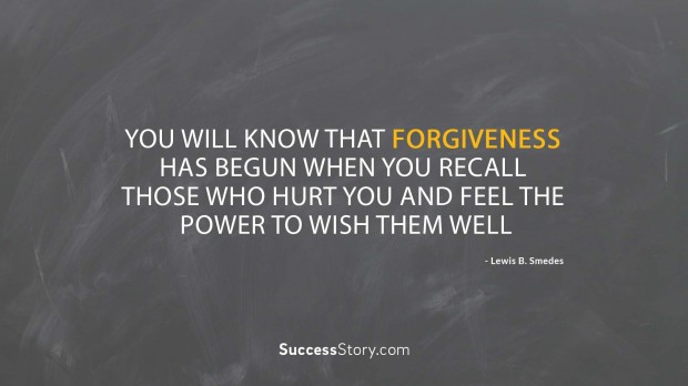 You will know that forgiveness  2