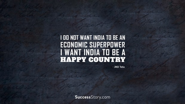i do not want India to be