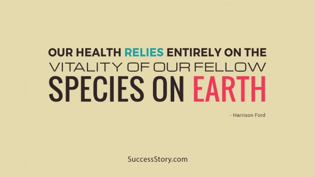 our health relies
