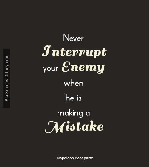 Napoleon Bonaparte Quotes Famous Quotes Successstory