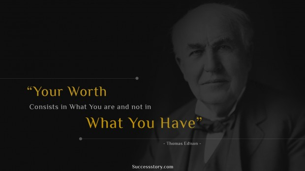 Famous Thomas A Edison Quotes Inspirational Quotes SuccessStory Best Thomas Edison Quotes