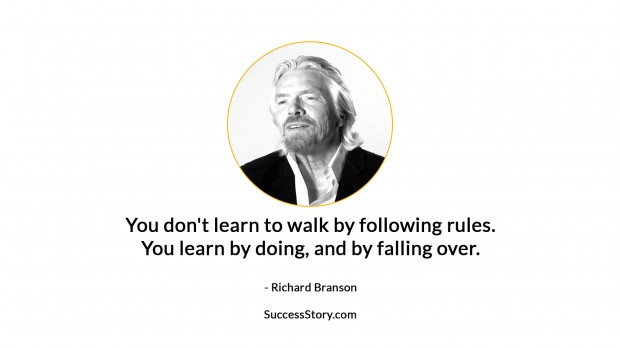richard branson failure quote