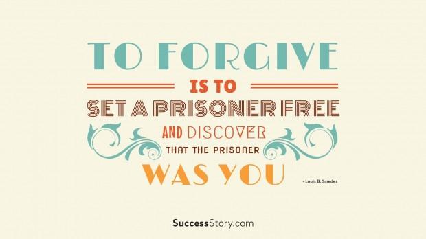 to forgive  1