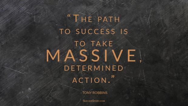 tony robbins path to success