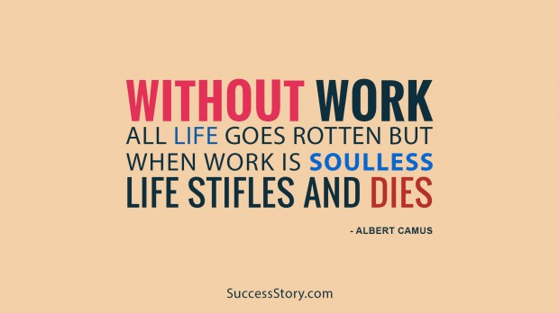 without work