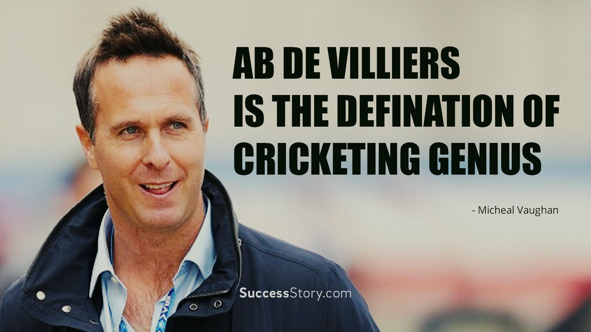 Ab De Villiers is the defination