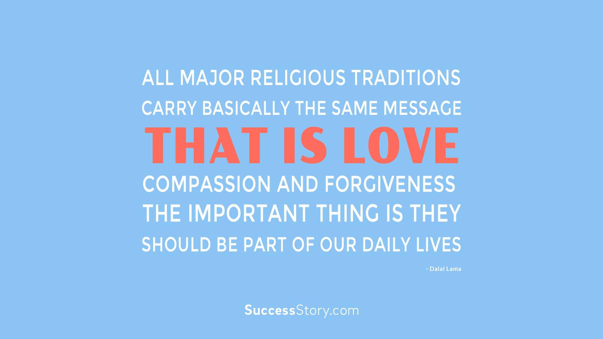 All major religio