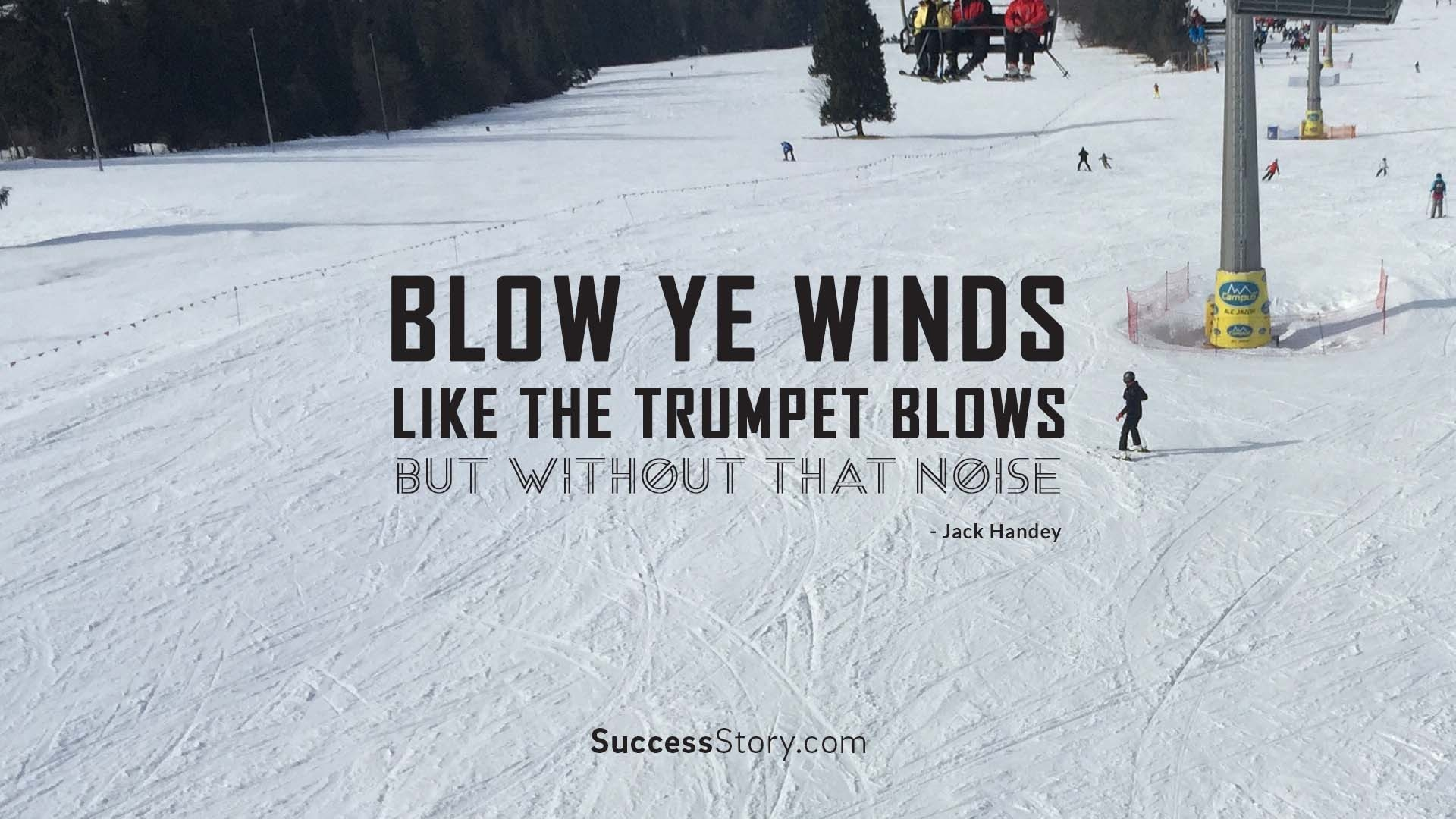 Blow ye winds, lik