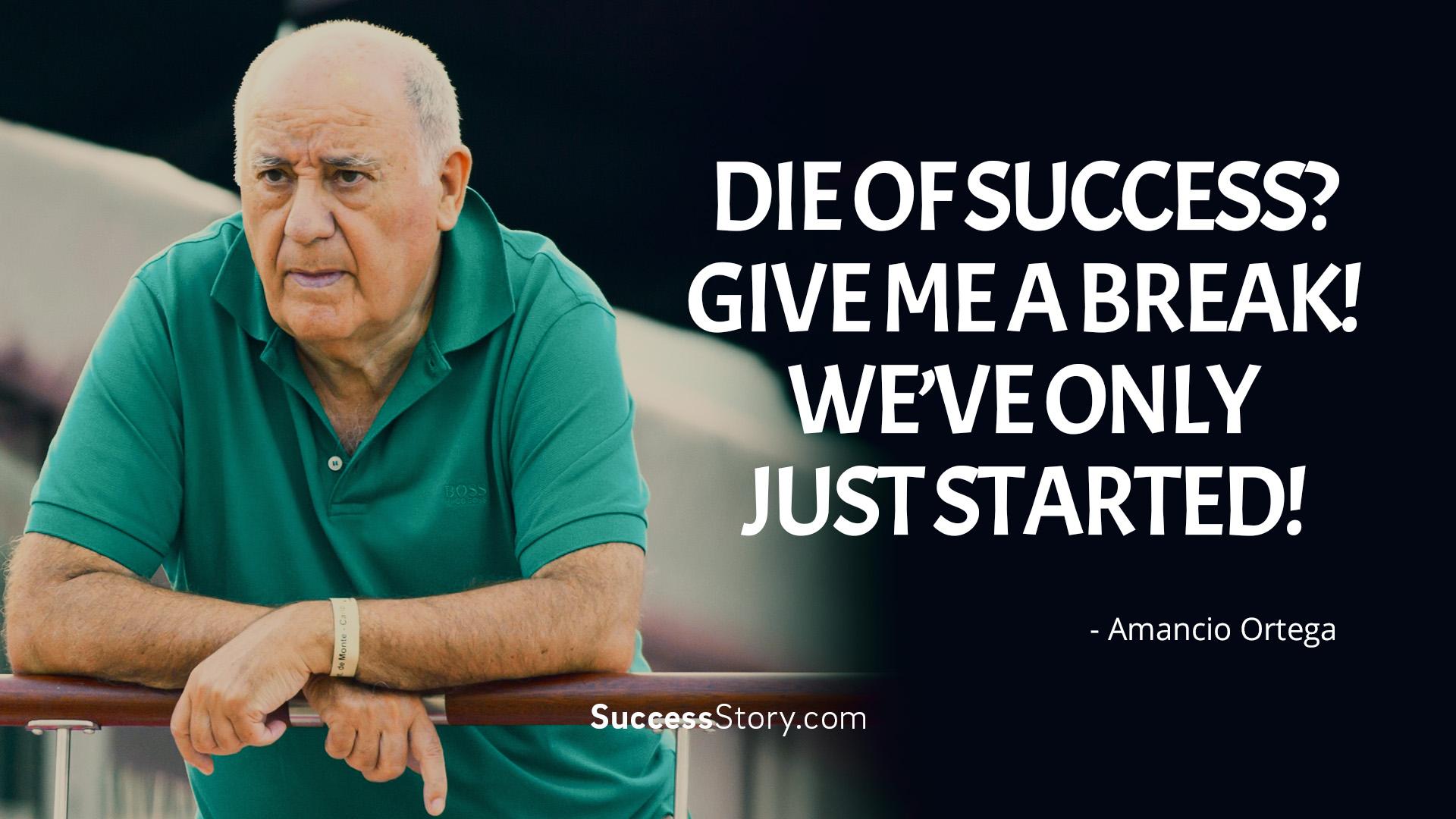 Die of success