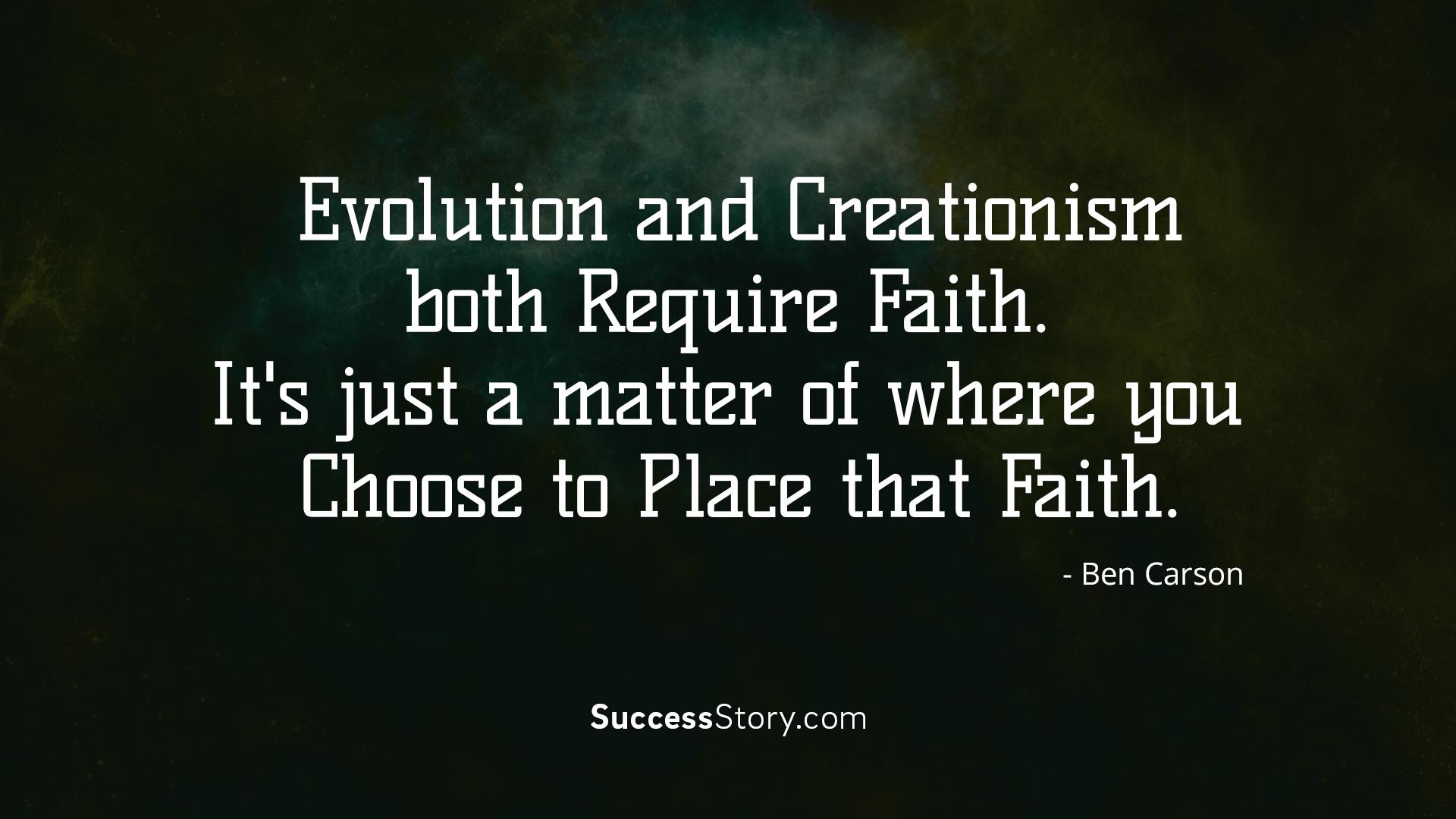 Evolution an