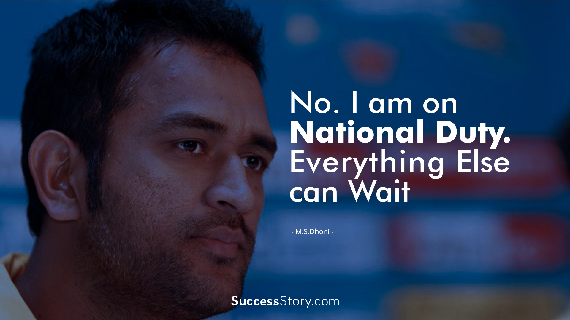 Famous MS Dhoni Quotes | Inspirational Sayings | SuccessStory