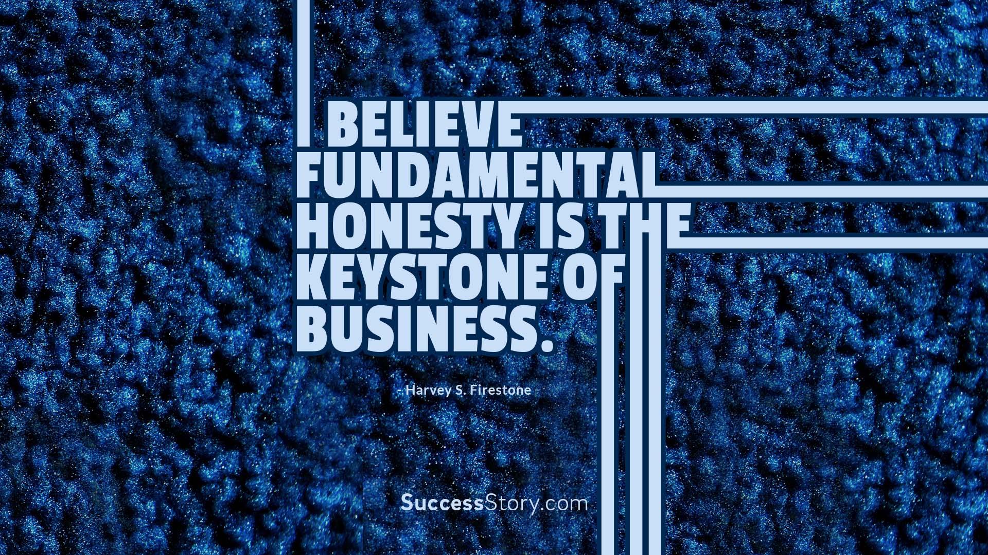 I believe fundamen