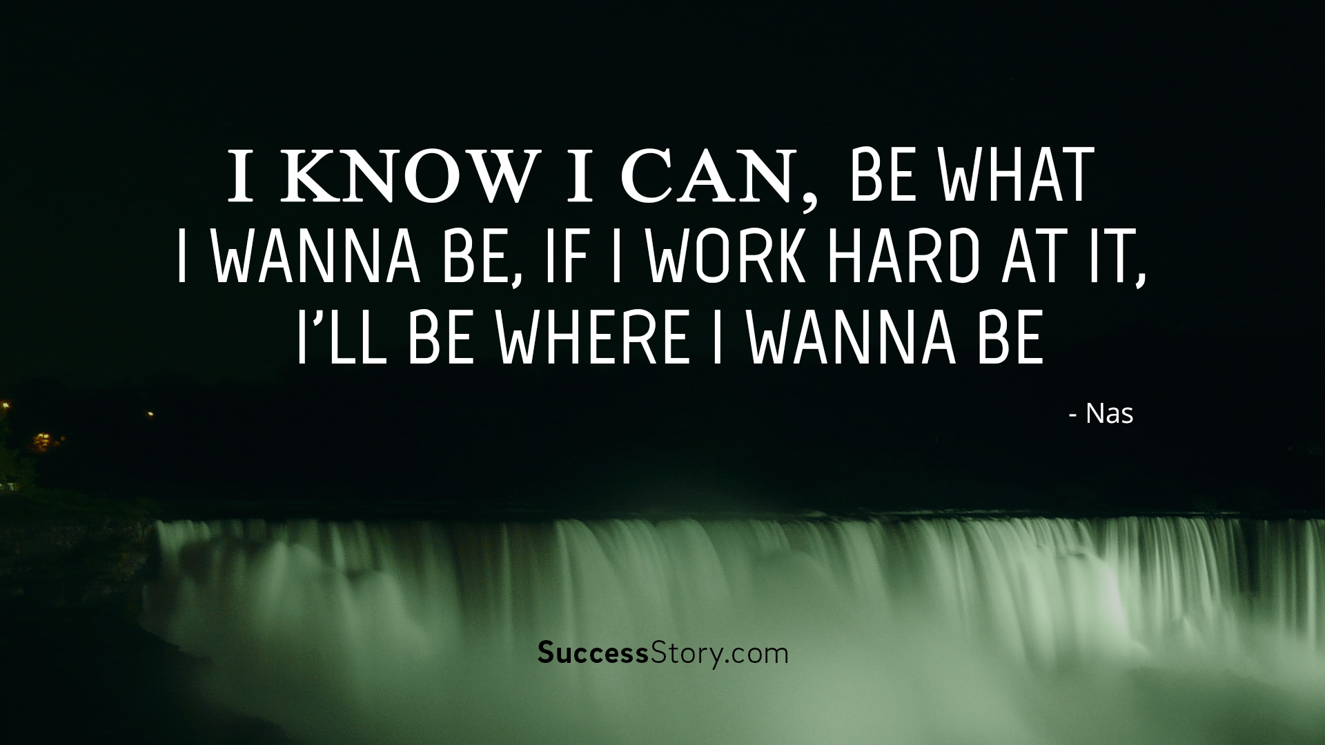 I know i can,