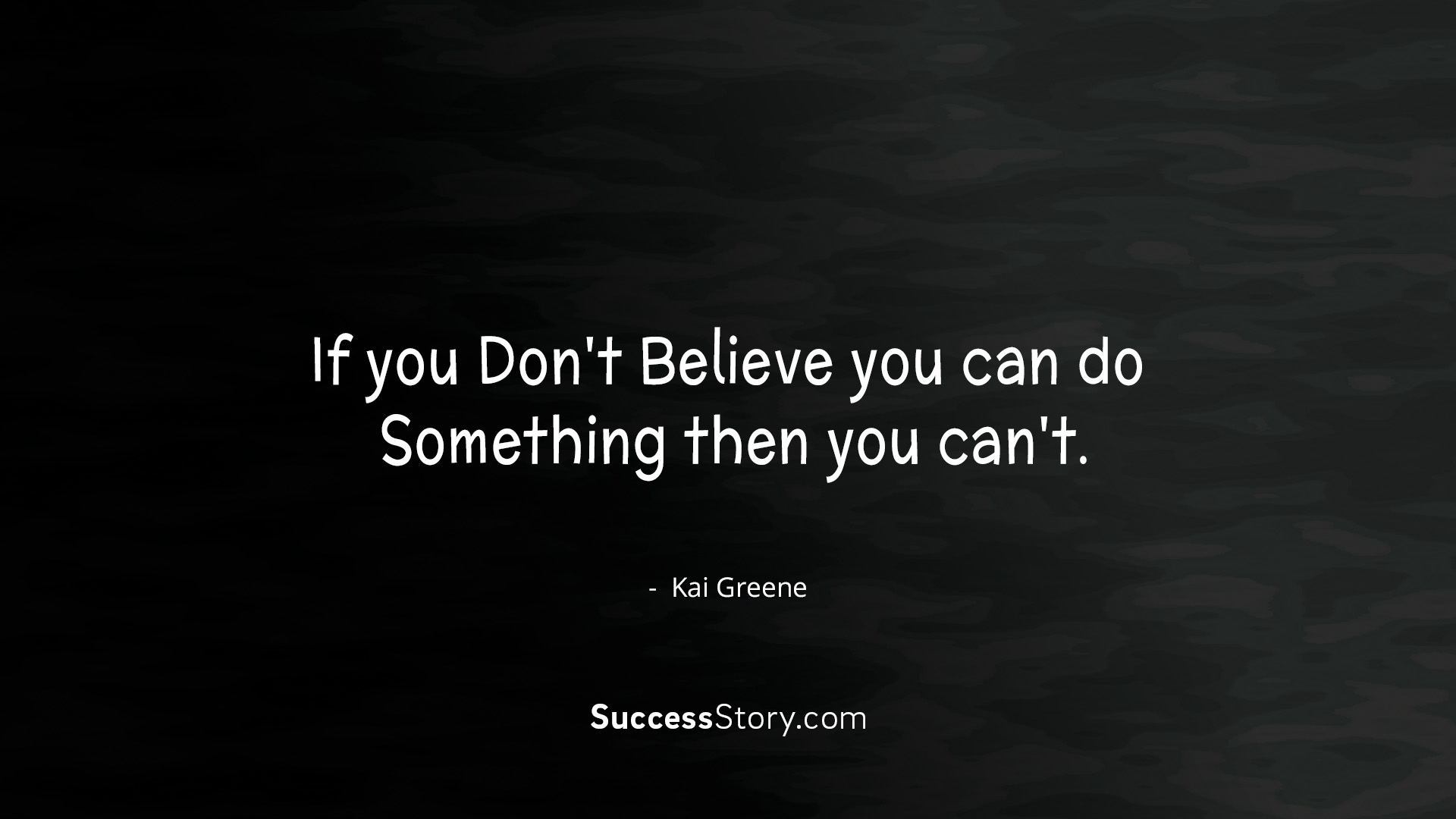 If you don t believe