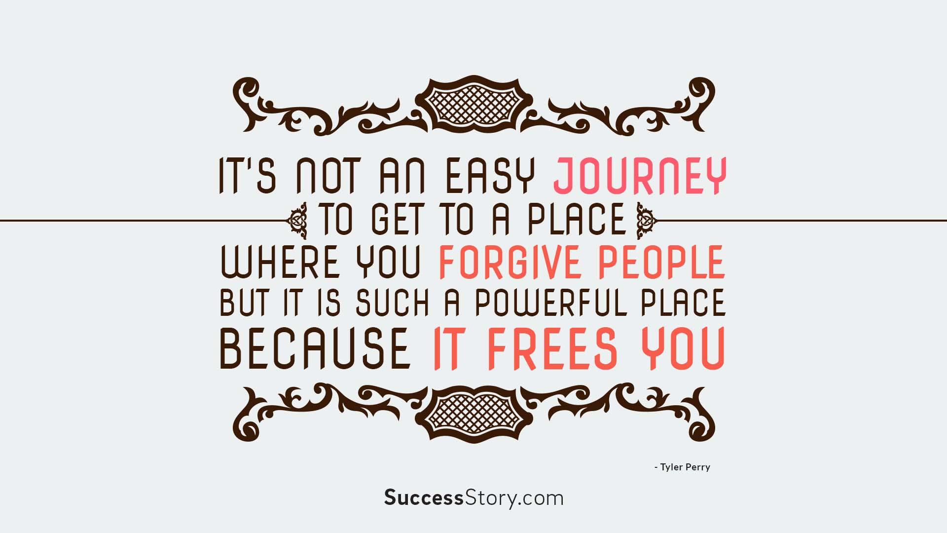 It s not an easy journey,  1
