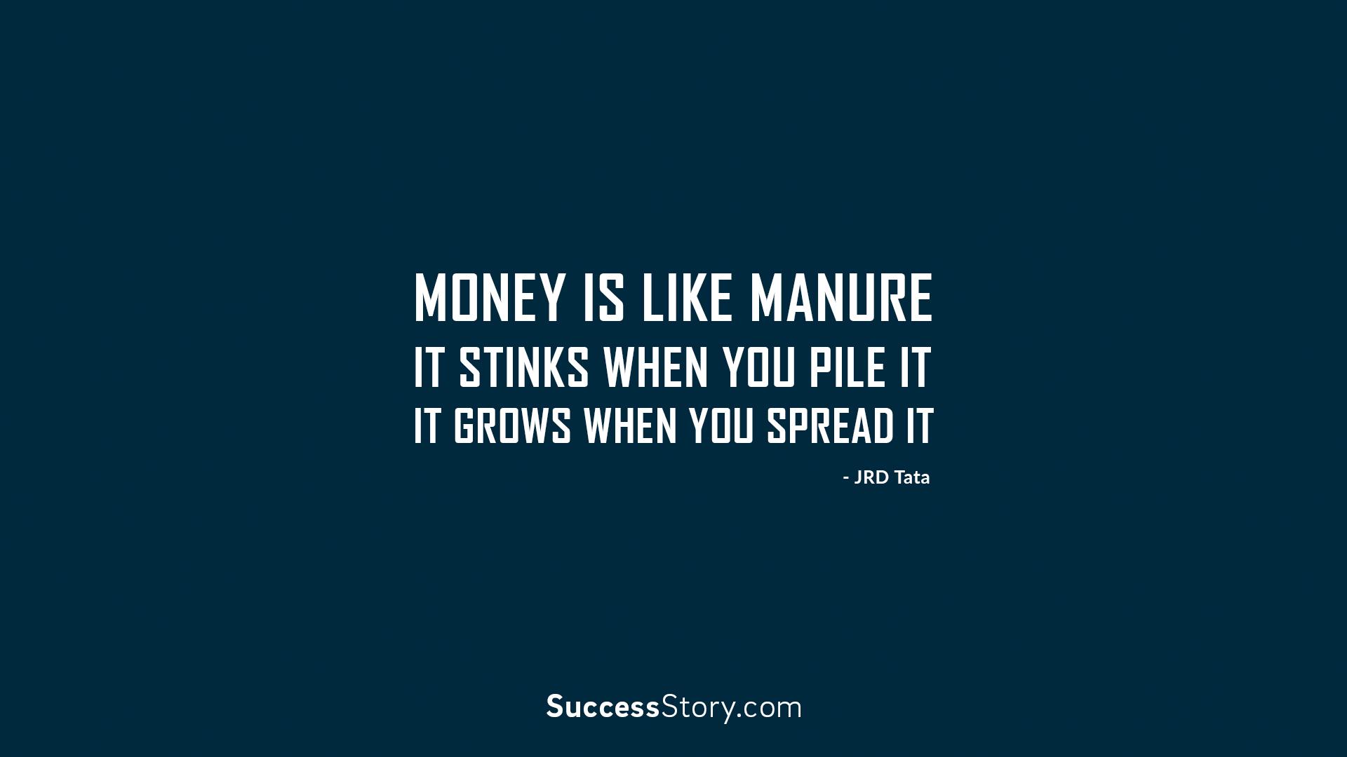 Money is like