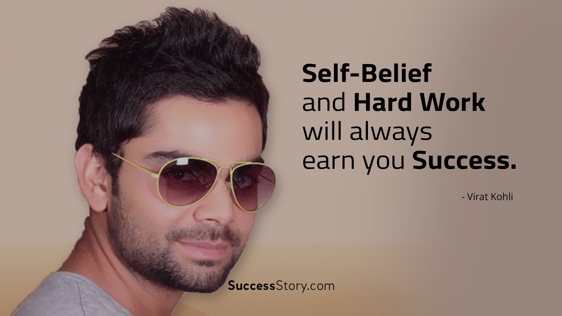 Self belief and hard